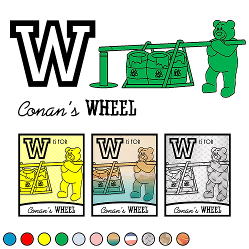 W is for (Conan's) Wheel