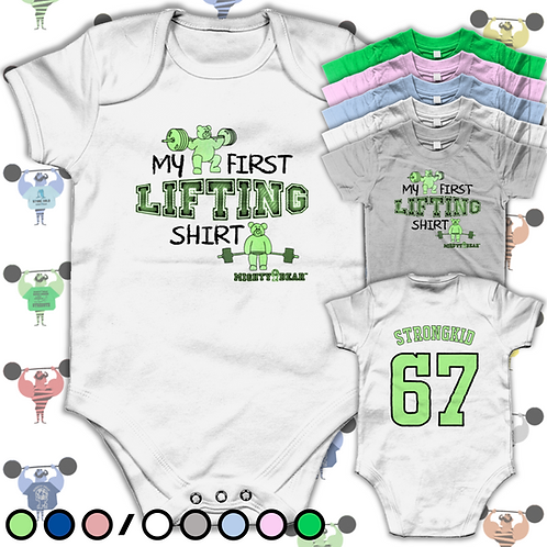 First Lifting Shirt Baby Tee