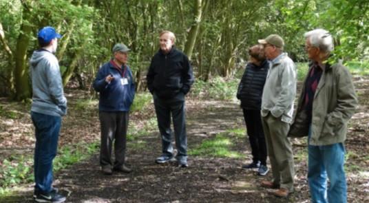 Thorpe Abbotts airfield walk with Ron Batley