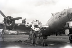 Digitisation project to reveal hidden images of 100th Bomb Group