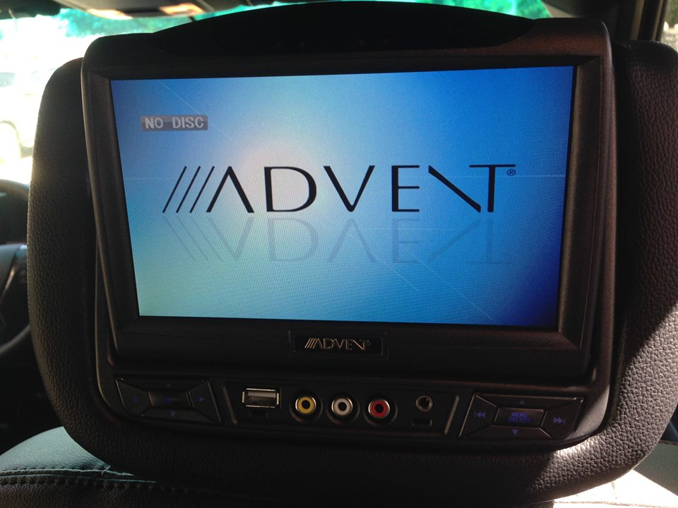 Advent Dual Headrest Screens