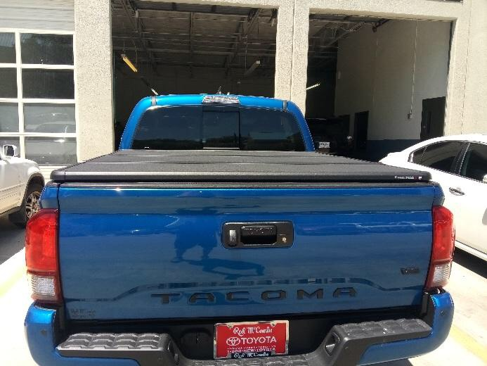 Extang Solid Fold on a Toyota Tacoma