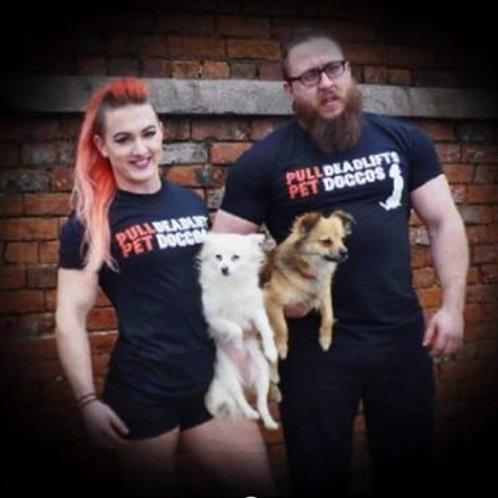 Pet Doggos & Deadlift T-shirt