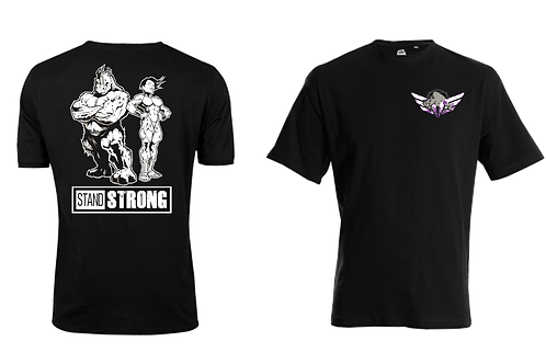 Stand Strong T-Shirt for the larger athlete
