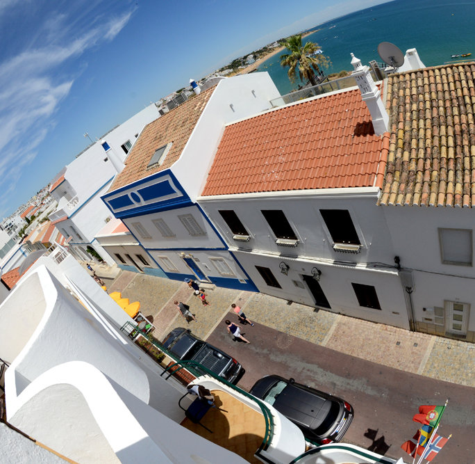 Albufeira Town from Dianamar