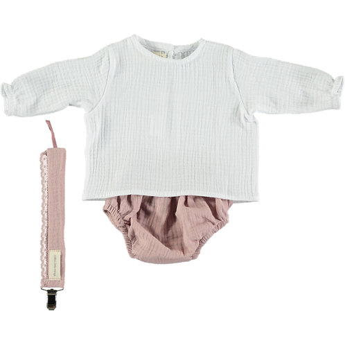 OUTFIT 1 BASICS MUSELINE