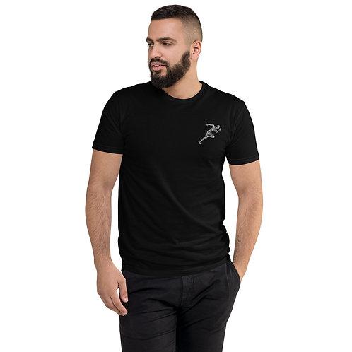 Black Embroidered Aiga Shirt