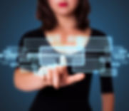 bigstock-Businesswoman-pressing-high-te-