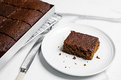 Hungry for Health gingerbread cake slice
