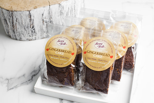 12 Gingerbread Cake slices - individually wrapped