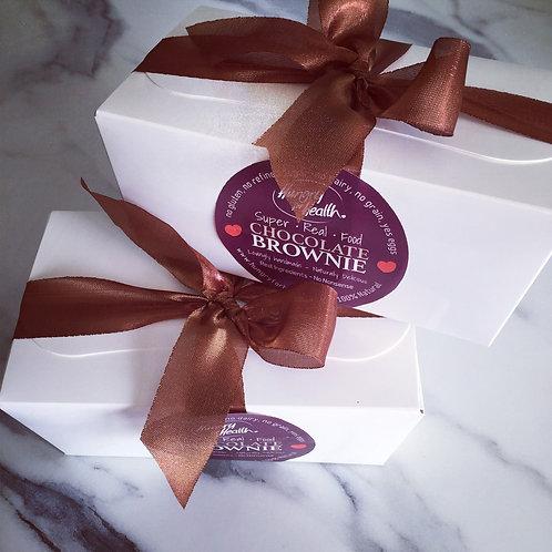 Gift box of 12 bite-size Chocolate Brownies