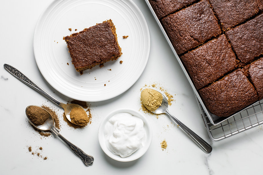 Hungry for Health Gingerbread Cake