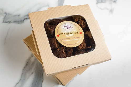 12 small slices of Gingerbread Cake in eco box