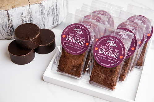 12 Chocolate Brownies - individually wrapped