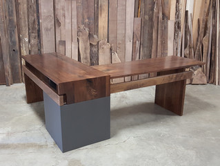 Three Projects by South of Urban using AFW's Urban Harvested Walnut