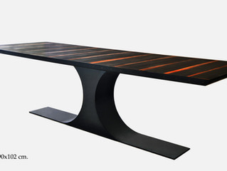 Gabon Ebony Tables