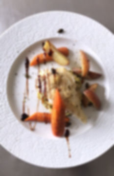 Dos de cabillaud gratiné au parmesan _ T
