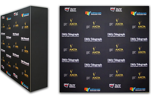 Media Backdrop 3 Mtrs  width X 2 Mtrs Height  X 30 Cms Depth - #RF057