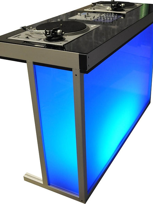 DJ Booth - Single color Acrylic Back-lit
