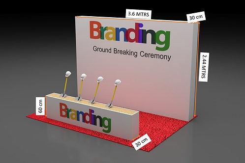 Ground Breaking Ceremony Equipment's