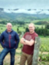 Timbo Deaker Jason Thompson Viticulturists Black Quail Estate