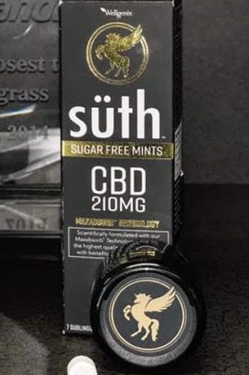 Suth Sugar Free Mints 210 mg CBD