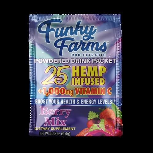 Funky Farms 25 mg CBD Drink Packet