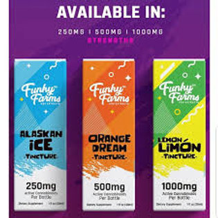 Funky Farms CBD 2000 mg Full Spectrum