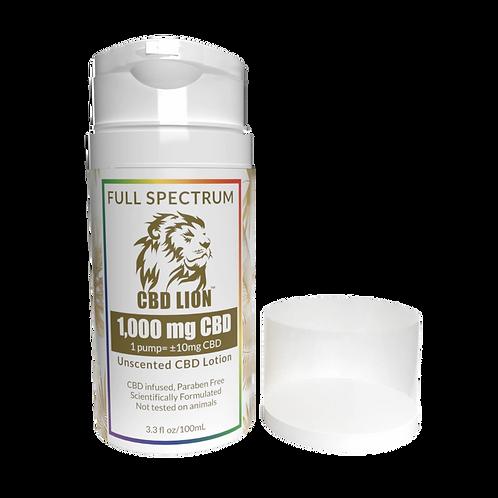 CBD Lion 1000mg Extra Strength Pain Full Spectrum
