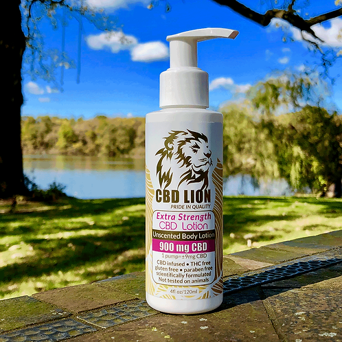 CBD Lion Extra Strength Pain Cream 900 mg