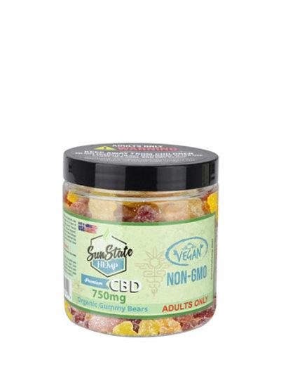 SunState VEGAN 750 mg gummies