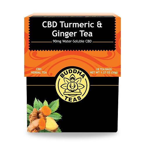 Budda CBD Turmeric & Ginger Tea 90 mg
