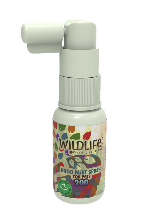 Nano Wildlife Pet Mist Spray CBD 150 mg