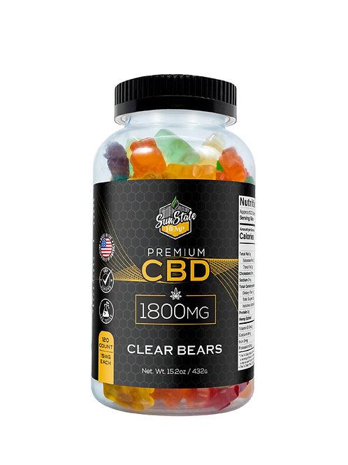 Sun State Hemp 1800mg Gummie Bears