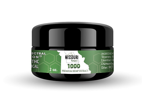 Missouri 1000 mg Pain Cream
