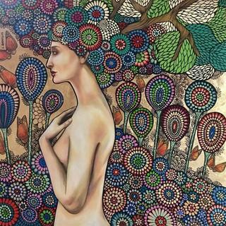 Eva en su Jardin
