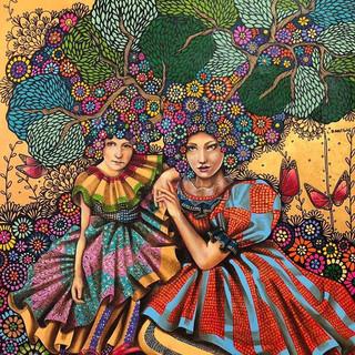 Persephone y Demeter