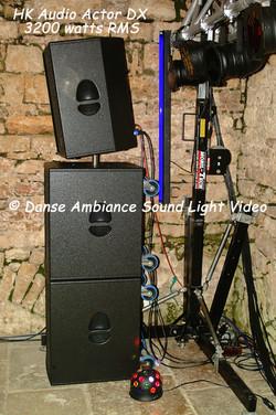 HK Audio Actor DX 3200 watts rms