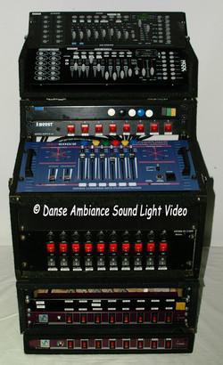 Rack de contrôle des Lights