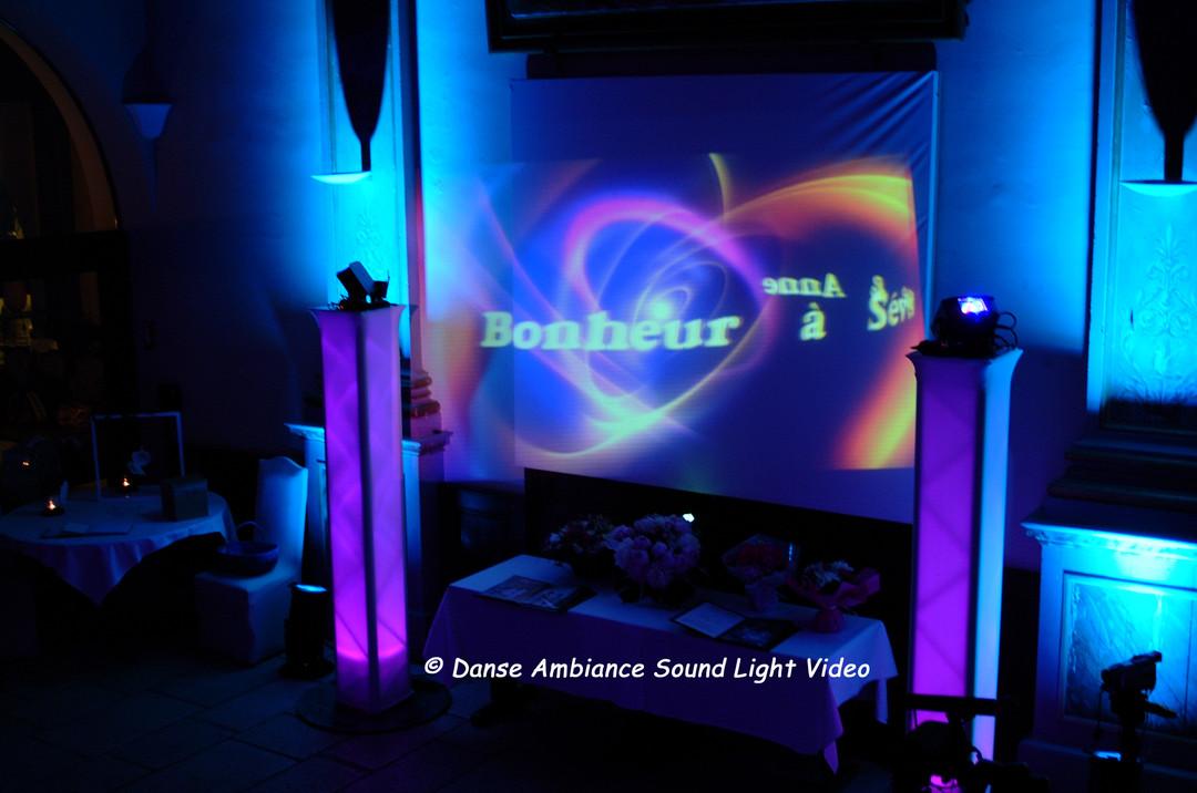 Projection en Disc Video Jockey