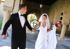 Mariage à l'Abbaye de la Ferté à Saint Ambreuil