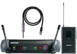 Micro transmiter PGX1 P6 et receiver PGX 24 Wireless Shure