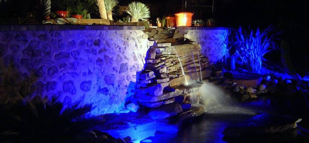 Eclairage aquatique extérieur