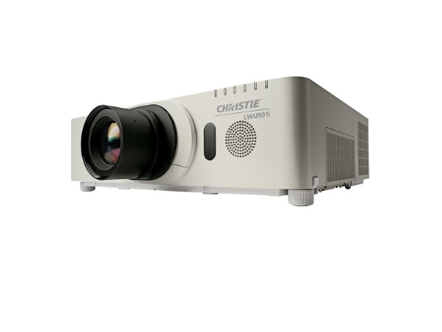 Christie LWU501i 3LCD projector.