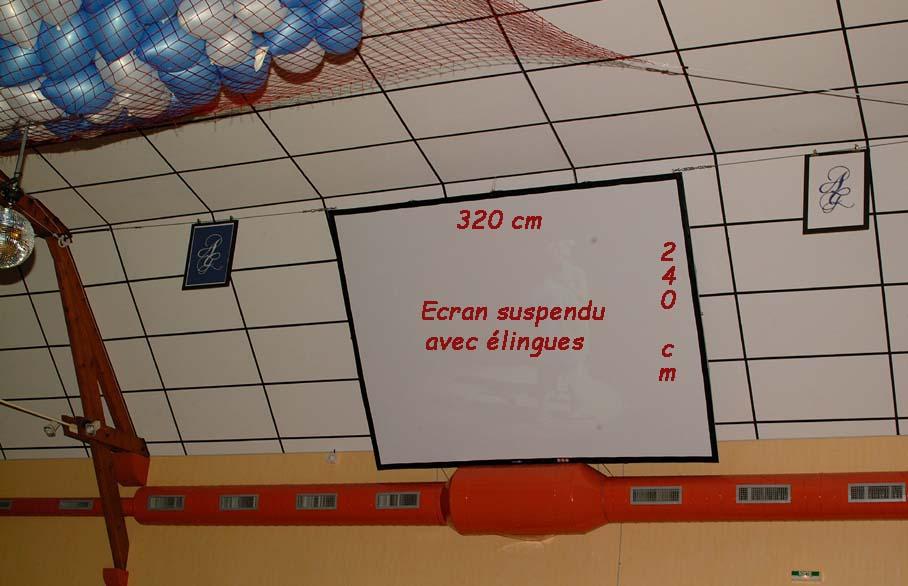 Ecran suspendu 320 x 240