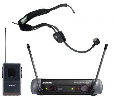 Micro serre-tête WH20 TQG avec transmitter PGX1 P6 et Receiver PGX 24 Wireless Shure