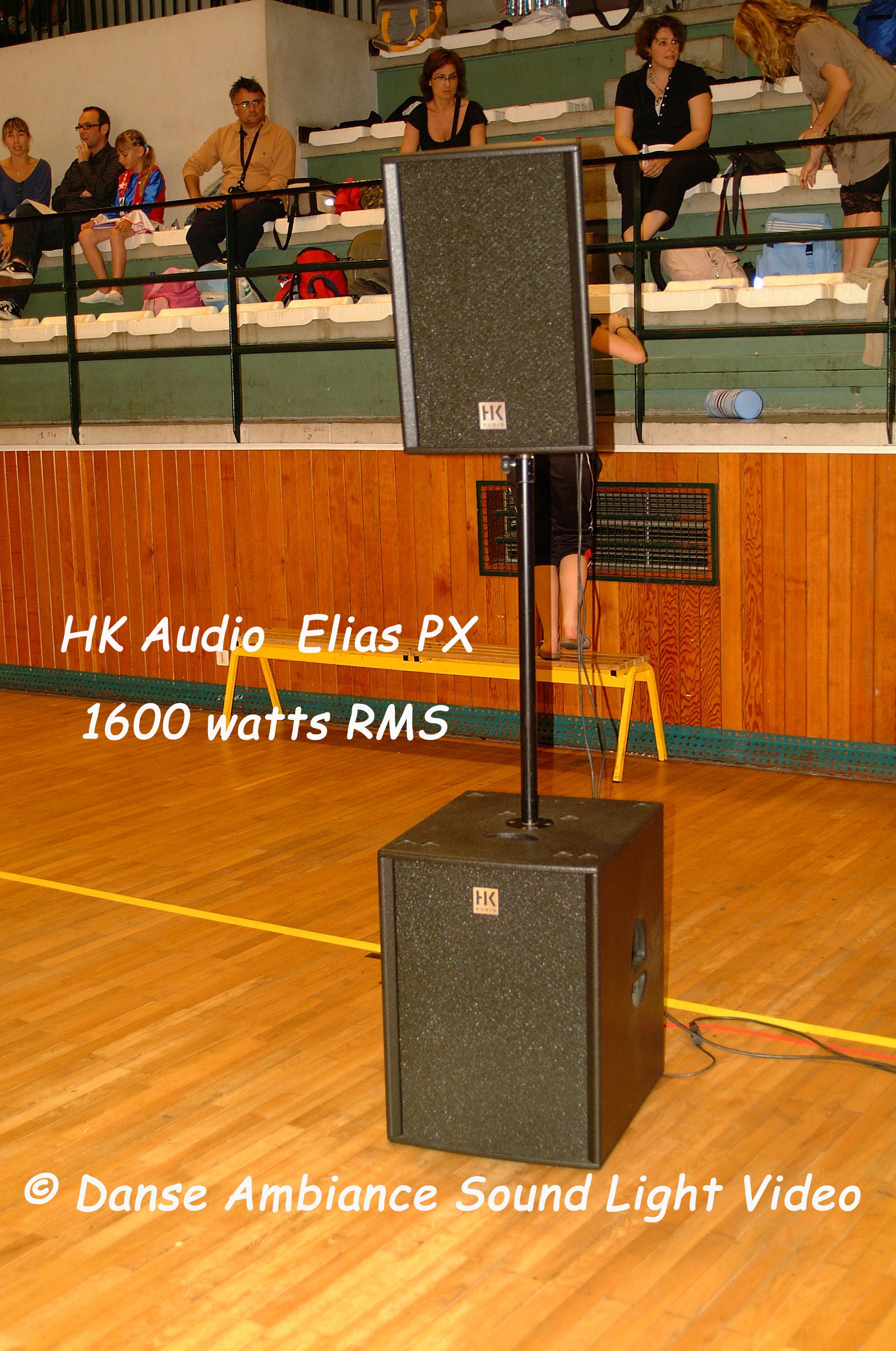 HK Audio Elias PX 1600 watts rms
