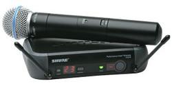 Micro Handheld Beta 58 et Receiver PGX 24  Wireless  Shure