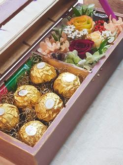 발렌타인&화이트데이 플라워초콜렛상자수업