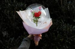 꽃다발 풍선 클래스